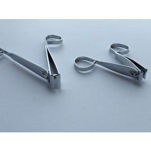 2 броя професионални ножични нокторезачки за маникюр и педикюр PEDI EGG - 100% контрол