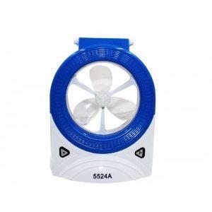 Акумулаторен вентилатор- LED  прожектор - лампа AED-5524A