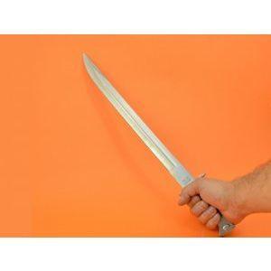 Огромен нож АК47-5 СССР 50.50 см  с дървена дръжка и калъф