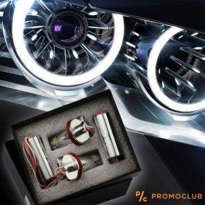 LED фарове ANGEL EYE - ангелско око за BMW 8W BMW Е92, Е93, Е70 (Х8)