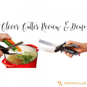 Mощна кухненска ножица 2в1 CLEVER CUTTER за месо и зеленчуци реже всичко