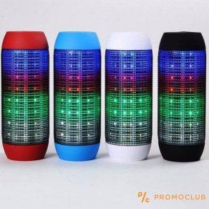 HiFi мини аудио система PULSE - кристален и мощен звук с LED осветление - стълбица реплика