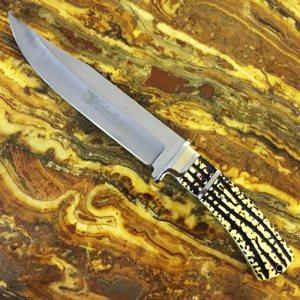 Тежък ловен нож COLUMBIA G10 с кокалена дръжка