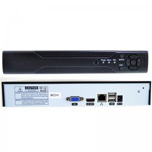 NVR 8 канален HD Recorder, с HDMI