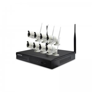 HD NVR KIT за наблюдение, 8 канален декодер, 8 IP камери KYX - 7108