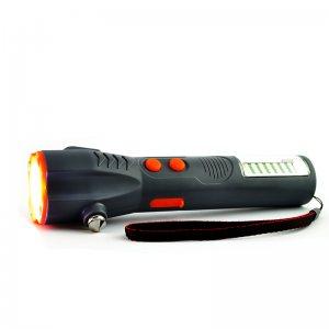 Мулти функционален фенер с USB зареждане и LED лампи