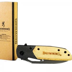 Сгъваем нож BROWNING X28 с дървена дръжка