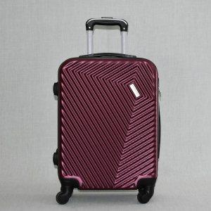 Твърд и лек авио спинър - куфар за ръчен багаж PL015 BORDEAUX