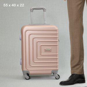 ТОП ЦЕНА:  ABS спинър за ръчен багаж PL107 ROSE, 55x40x22, пластмаса
