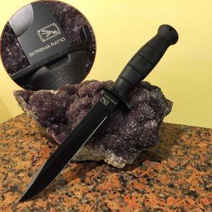 Прав италиански военен нож за лов EXTREMA RATIO C00360A- КАФЯВО И БЕЖАВО