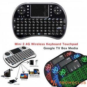 Универсална безжична блутудна мини клавиатура за TV BOX и др.