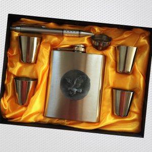 Ювелирен подаръчен комплект YH11 EAGLE TOUGH MEN, неръждаема стомана, лукс пак