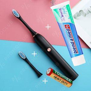 Ултразвукова четка за зъби  SONIC CARE DP 37000 BLACK с ПОДАРЪК 100 мл  Blend a Med,