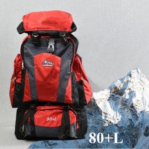 ТОП: Голяма 80-Литрова Туристическа Раница 80L+ 21193 RED