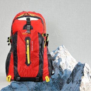 Туристическа раница 27L BAI SHI QI 32006 RED., с всички екстри, среден размер 50 см