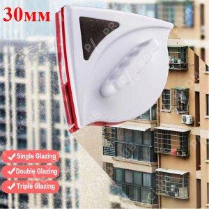 Двустранна магнитна чистачка за прозорци  Magnetic Window Cleaner MAX до 3 см