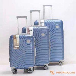 Най-висок клас спинъри DL DELONG Blue, 3 броя, ABS пластмаса