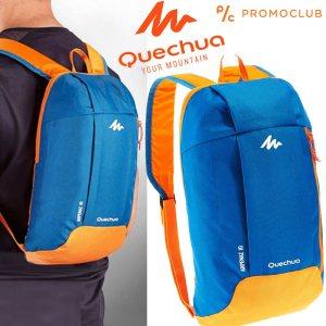 Унисекс раница QUECHUA ARPENAZ 10 BLUE-ORANGE,  10 литра, синьо-оранжева, 12002