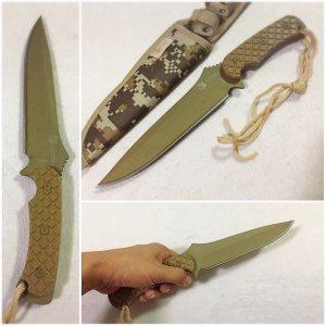 Тактически ловен нож COLUMBIA SA31, десантен дизайн