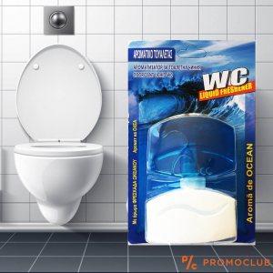 Течен ароматизатор - парфюм за тоалетна ОКЕАНСКА СВЕЖЕСТ, 55 мл.