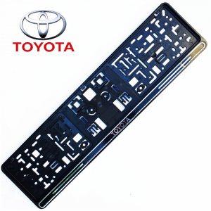 Авто поставка за регистрационен номер на автомобил TOYOTA BLACK