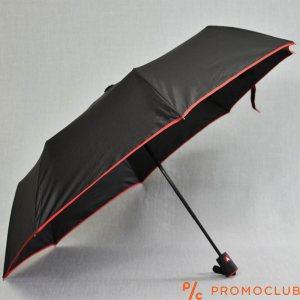 Сгъваем чадър BLACK-RED LINE 22802