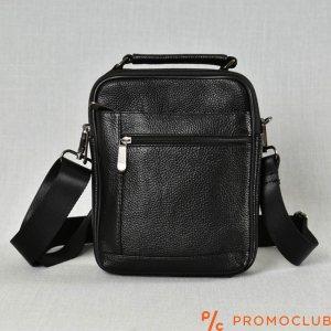 Мъжка чанта от естествена кожа с  отделение 5015