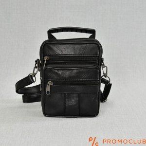 Мъжка чанта от естествена кожа с две отделения 9005