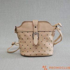 Красива дамска чанта LADY BEIGE 2793, еко кожа