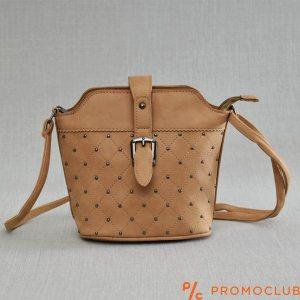 Дамска чанта от еко кожа-  LADY BROWN 2793