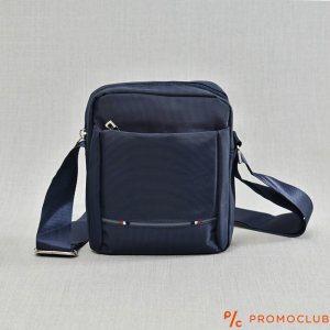 Мъжка чанта от текстил с дръжка за през рамо BLUE 2701