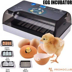Автоматичен инкубатор за 12 броя яйца
