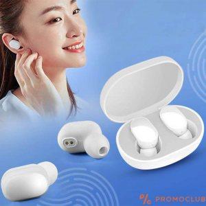 Безжични слушалки- бели TWS-X01