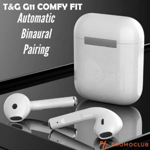 Безжични слушалки TG11 COMFY FIT със зареждаща кутия