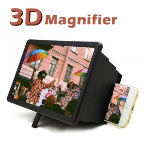 3D увеличителен екран за мобилен телефон за гледане на видео