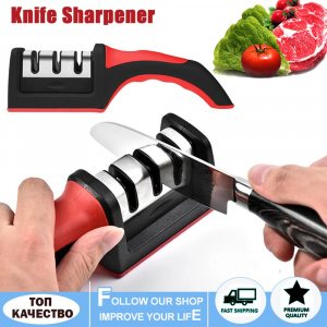 Тристепенно прецизно точило за ножове KNIFE SHARPENER 3 in 1