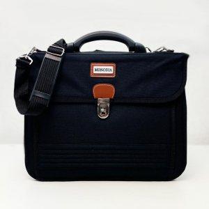Голяма бизнес чанта OPEN OFFICE за  лаптопи до 15-17 инча MONODIA   с куфарна дръжка
