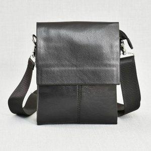 Красива мъжка кожена чанта 5669-2 BLACK