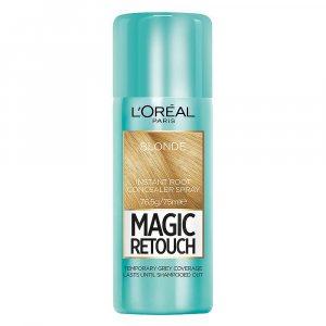 Оцветяващ спрей за коса LOREAL MAGIC RETOUCH LIGHT BLONDE, светло суро, 75 мл., YOUR FIX