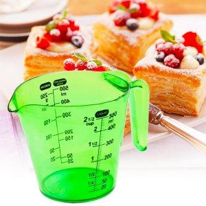 Практична мерителна каничка за готвене GREEN, 500 мл/ 500гр