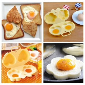 Перфектната форма за яйца на микровълнова - 4 форми в 1 за позитивно начало на деня!