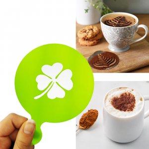 Шаблон ДЕТЕЛИНА за поръсване и украса на топли напитки и сладки изделия, 1 бр.