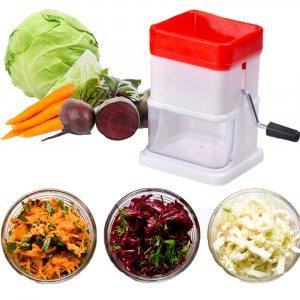 Ръчна зеленчукова мелачка VEGETABLE GRATER - сглобяема, практична и удобна...Клъц!