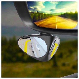 Единствено по рода си двойно авто огледало 360°, отразява мъртвата зона и предната гума