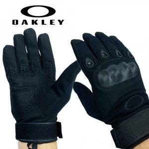 Тактически ръкавици OAKLEY New Khaki BLACK 323 с цели пръсти, пролет-есен