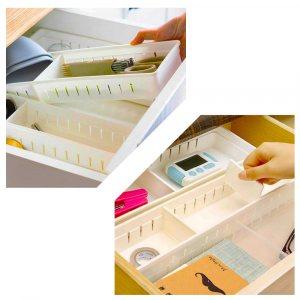 Практичен органайзер за чекмедже 34.8 х 12 х 5 см - НЕ! на бъркотията!