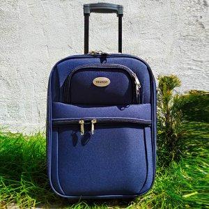 Куфар за ръчен багаж TRANSIT 701S, текстилен с 3 джоба, 45 х 33.5 х 17 см