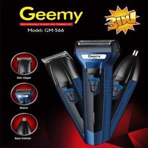 Машинка за подстригване и тример 3 в 1 Geemy GM-566