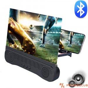 3D СТЕРЕО КИНО СТЕНА за мобилни телефони, увеличителен екран с мощни блутудни тонколони